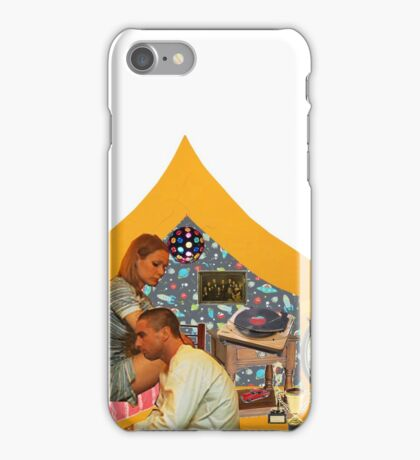 The Royal Tenenbaums Yellow Tent iPhone Case/Skin
