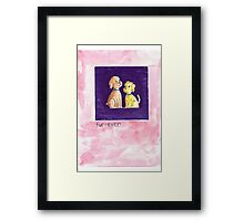 Fur-Ever Greeting Card & Gifts Framed Print