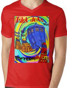 Dalek Joke T-shirt Design Mens V-Neck T-Shirt