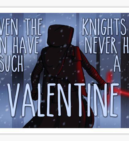 Never Had Such a Valentine Sticker