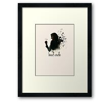 Bad Code Root Person of Interest Framed Print