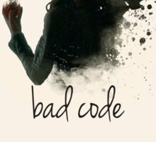 Bad Code Root Person of Interest Sticker