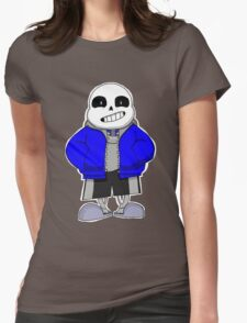 UNDERTALE- Sans the Skeleton Womens Fitted T-Shirt