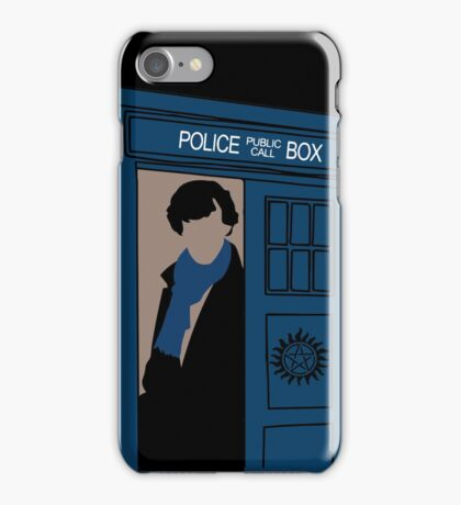 Supernatural, Doctor Who and Sherlock  iPhone Case/Skin