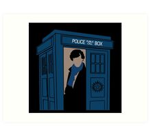 Supernatural, Doctor Who and Sherlock  Art Print