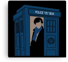 Supernatural, Doctor Who and Sherlock  Canvas Print