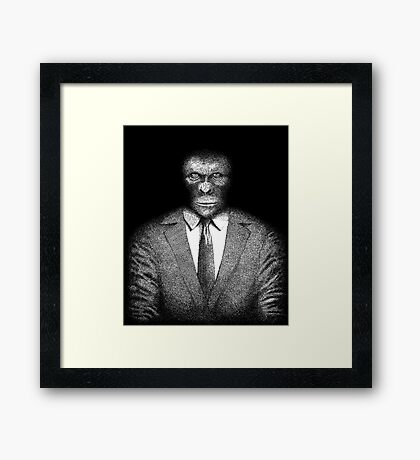 The Planet of the Apes Framed Print