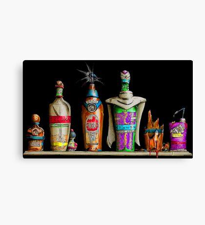 Dragon Bottle Z - Saiyan Arrival Canvas Print