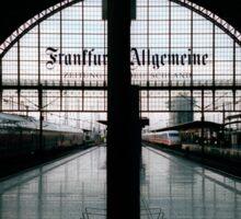 Frankfurt Hauptbahnhof Sticker