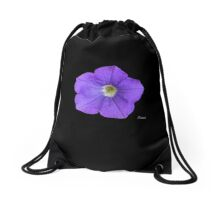 Inspired by Nature: Morning Glory Drawstring Bag