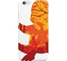 Forest on Flames Alt. iPhone Case/Skin