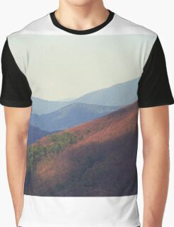 Blue Ridge Mountains, Virginia Graphic T-Shirt