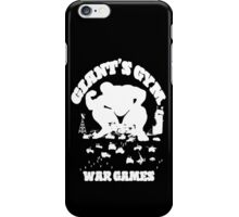 War Games (White) iPhone Case/Skin