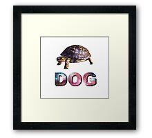 Dog Design Framed Print