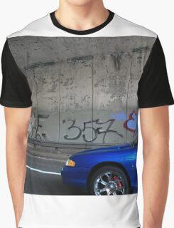 New York City Graffiti Graphic T-Shirt