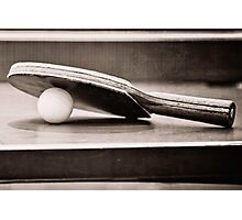 Table Tennis Champ Photographic Print