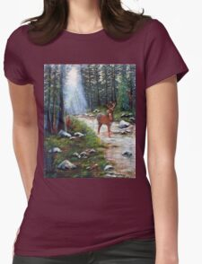 White Tail Creek Womens Fitted T-Shirt