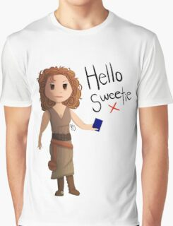 Hello Sweetie River Song Graphic T-Shirt