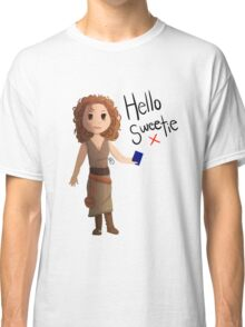 Hello Sweetie River Song Classic T-Shirt