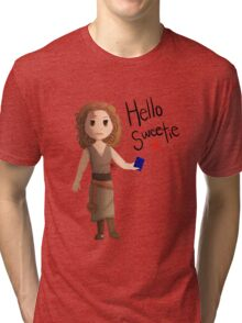 Hello Sweetie River Song Tri-blend T-Shirt