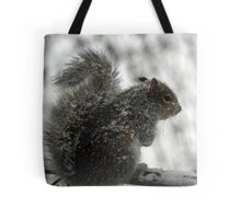 This white stuff is not amusing! Tote Bag