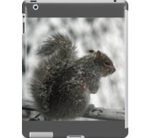 This white stuff is not amusing! iPad Case/Skin