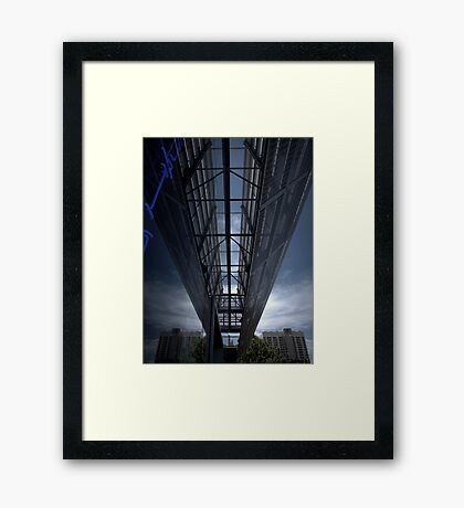 Stationary Framed Print