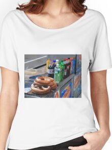 New York Pretzel Stand Women's Relaxed Fit T-Shirt
