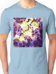 Iris Flower Petals Abstract  Unisex T-Shirt