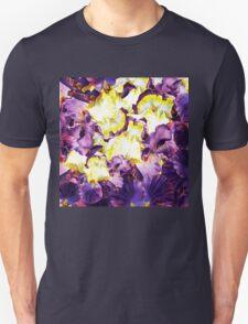 Iris Flower Petals Abstract  T-Shirt