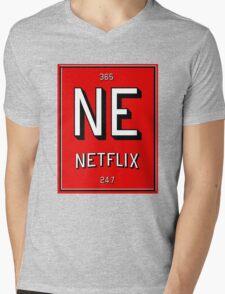 Element of Netflix Mens V-Neck T-Shirt