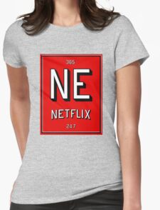 Element of Netflix Womens Fitted T-Shirt