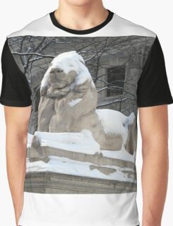 New York Public Library Lion Graphic T-Shirt
