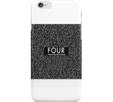 One Direction - Four iPhone Case/Skin