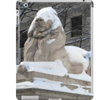 New York Public Library Lion iPad Case/Skin