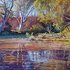 'Sugarloaf Creek' - Ashes Bridge by Lynda Robinson