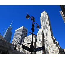 New York City Skyscrapers Photographic Print