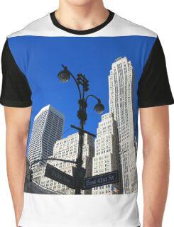 New York City Skyscrapers Graphic T-Shirt