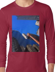 New York City Skyscrapers Long Sleeve T-Shirt