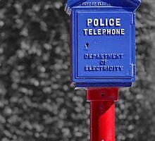 Police Telephone by Nicholas Blackwell