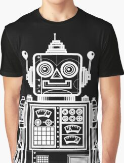 Vintage Toy Robot V2 Graphic T-Shirt