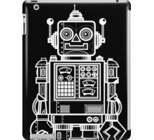 Vintage Toy Robot V2 iPad Case/Skin