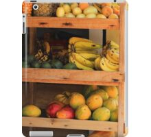 Fruit Stand iPad Case/Skin