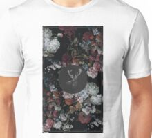 Stag & Flowers Unisex T-Shirt