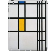 Piet Mondrian, Dutch,  Title Composition in R iPad Case/Skin