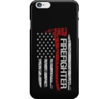 Firefighter tshirts - Firefighter Pride American Flag iPhone Case/Skin