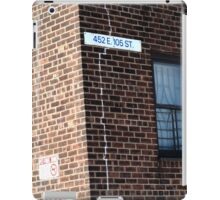 New York City - 105th Street iPad Case/Skin