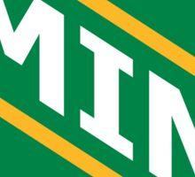 Minnesota Old School Crest Sticker