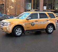 New York City Taxi by Frank Romeo