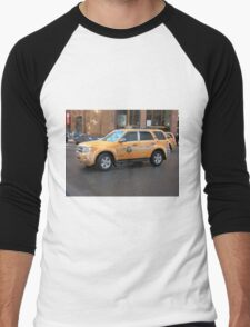 New York City Taxi Men's Baseball ¾ T-Shirt